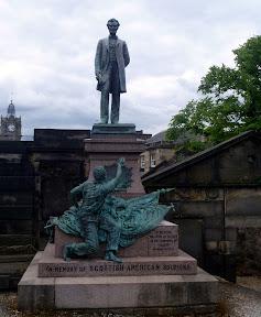 Abe's Edinburgh memorial
