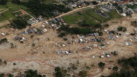 Φονικές πλημμύρες στην Κολομβία