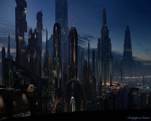 Night Of City Of Future, Fiction 2