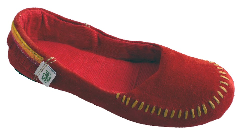 *soleRebels 手縫麂皮莫卡辛:moc up accent fringe平底鞋! 1