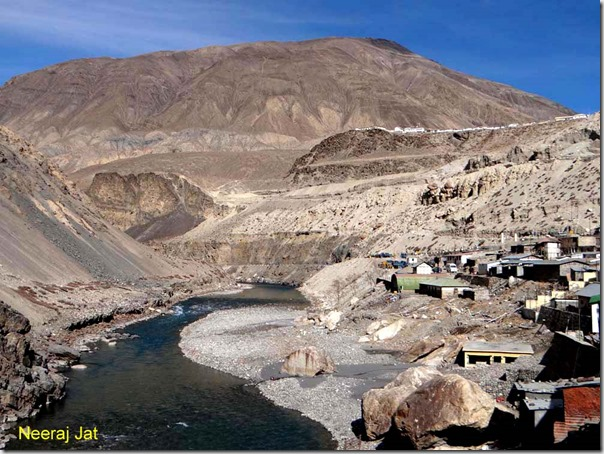 Sumdo in Himachal near Tibet Border