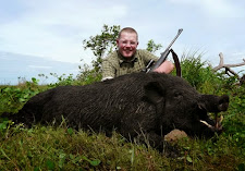 Mr Balke, Germany with a very nice Wild Boar