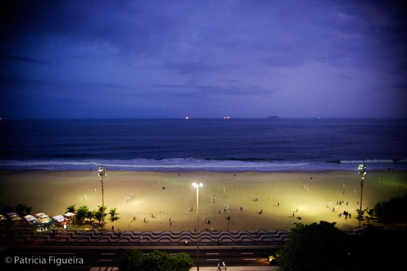 Foto de casamento 0034 de Luciene e Rodrigo. Marcações: 11/09/2009, Casamento Luciene e Rodrigo, Diversos, Paisagem, Praia de Copacabana, Rio de Janeiro.