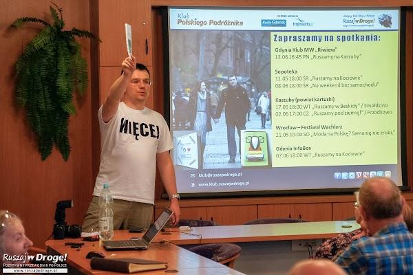 Maciej Marczewski - Prezes Zarządu Fundacji Ruszaj w Drogę