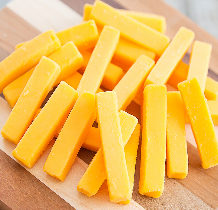 photo of Wisconsin Sharp Cheddar cheese bites