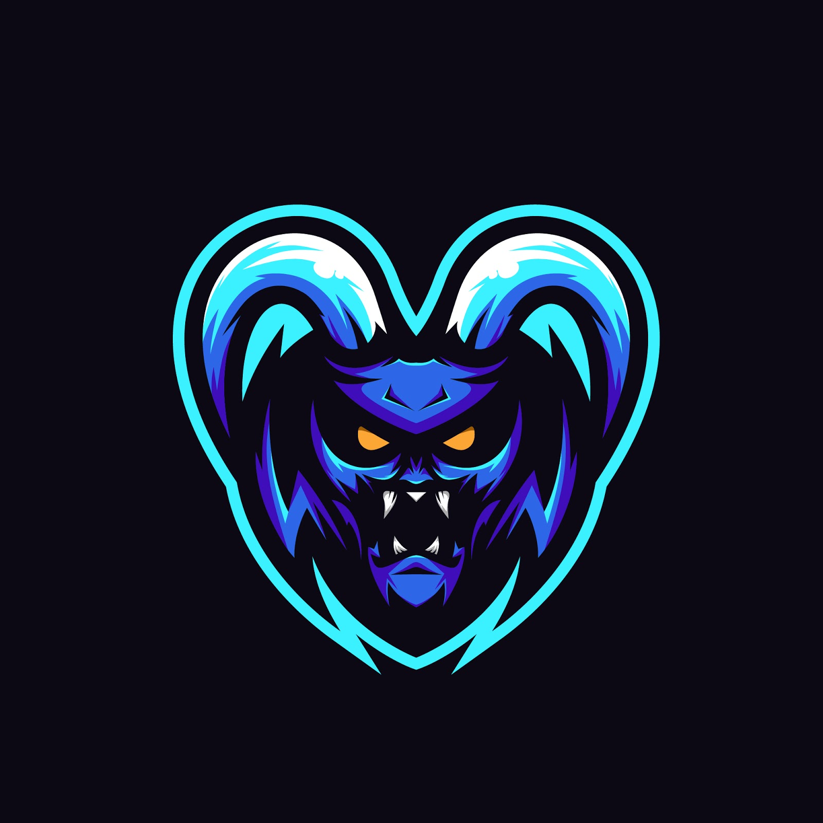 Monster Logo Illustration Premium Free Download Vector CDR, AI, EPS and PNG Formats