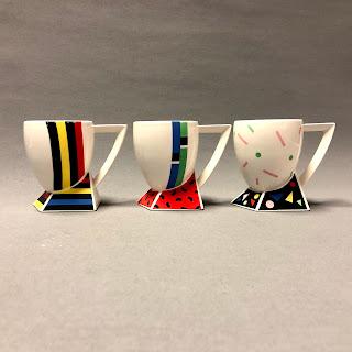 Fujimori Kato Kogei Collection Alpha 3 Mug Trio