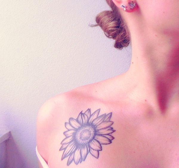 do_ombro_a_tatuagem_de_girassol