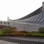 Yoyogi National Gymnasium in Shibuya, Tokyo, Japan