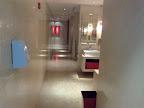 Perlato toilet floor
