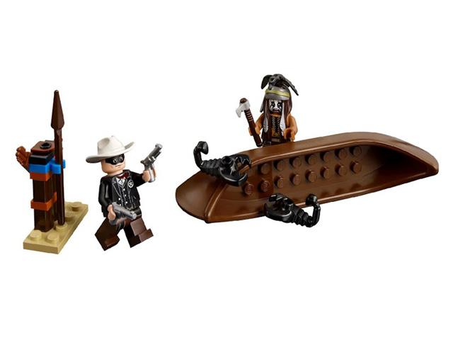 79107 レゴ ローンレンジャー コマンチ族のキャンプ