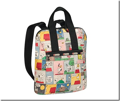 Peanuts X LeSportsac 8240 Everyday Backpack 03