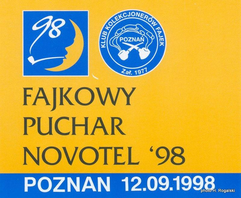 2 Fajkowy Puchar Novotel 1998