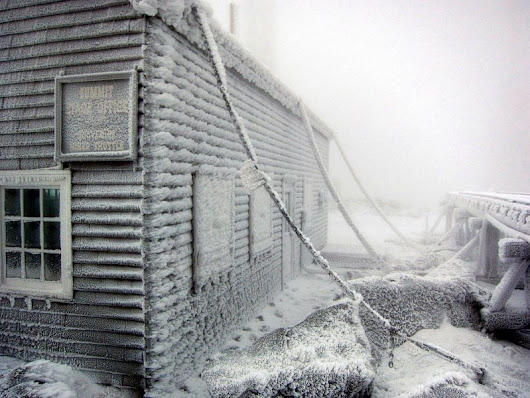 Mount Washington: Home of the World's Worst Weather | Amusing Planet