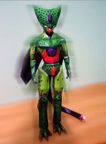 Imperfect Cell Papercraft