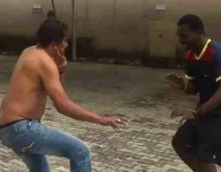 Majek Fashek shows off his Kung-Fu skills (Video)