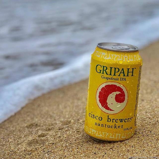 Cisco Brewery Releasing Gripah Grapefruit IPA Year-Round