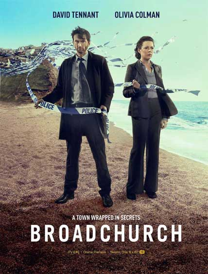 Plakat filmu: Broadchurch: Sezon 1.