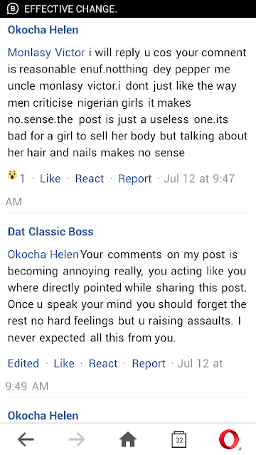 Man Blasted On Facebook Over 'small girls with big God' post ,