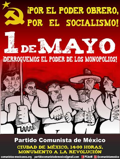 Primero del Mayo con el PCM
