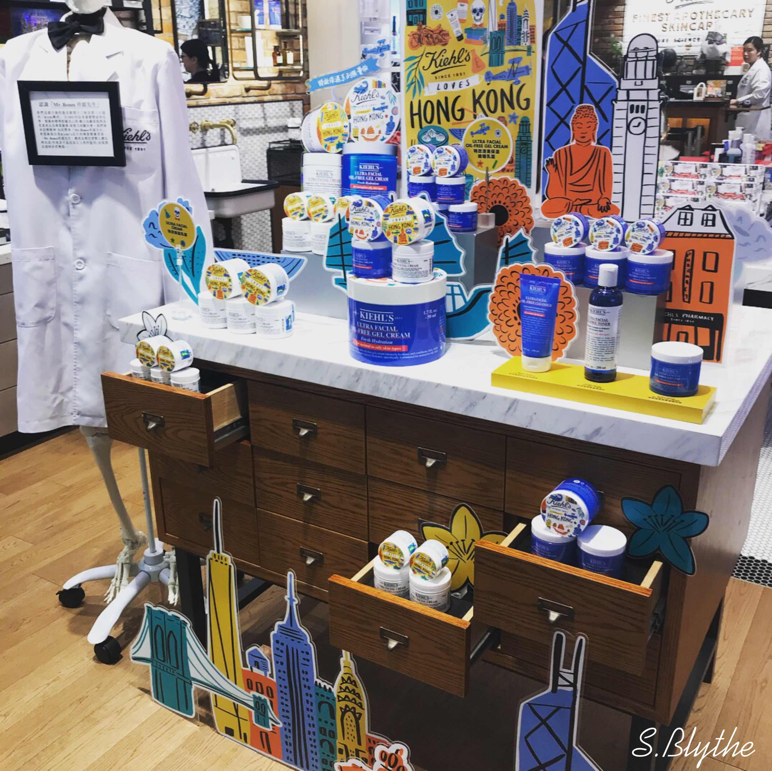 懷舊fun time,Kiehl's 愛香港Pop Up冰室 x Kiehl's Loves HK 限量版