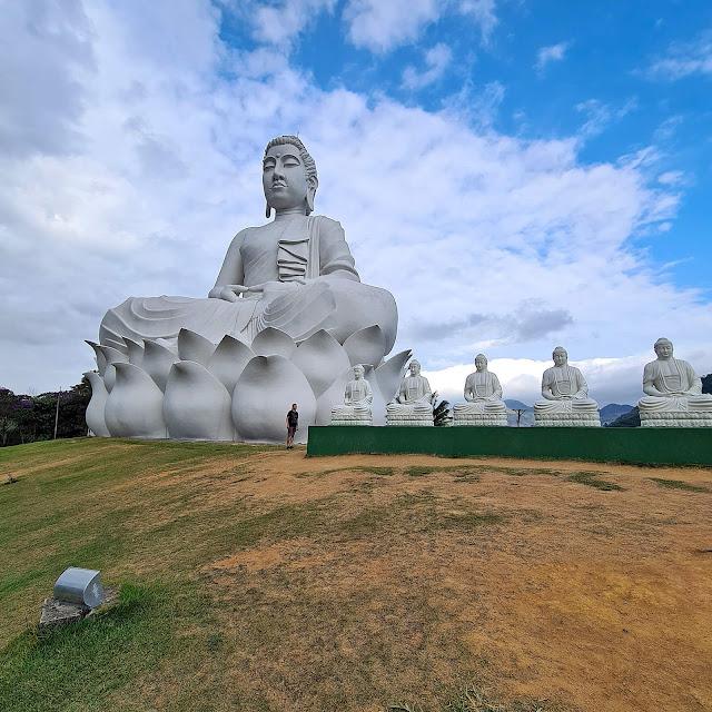 Maior Buda do Ocidente em Ibiraçu, ES.