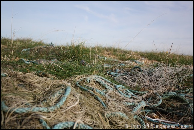 Shipping ropes on Dungeness beach