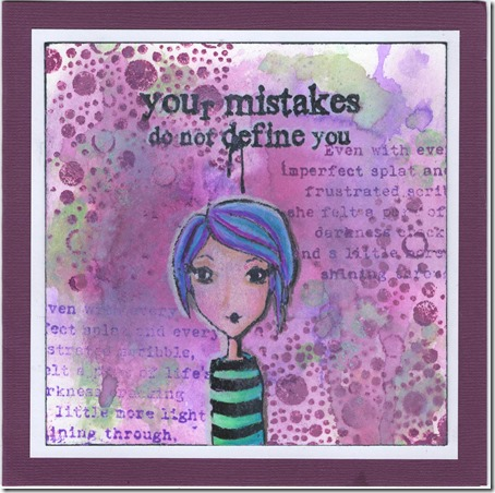 YOUR MISTAKES 1