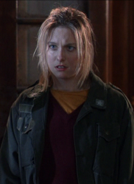 Lezlie Deane as Tracy. Prior to this she starred for me in my film 976-EVIL and worked with Johnny Depp on 21 JUMP STREET.