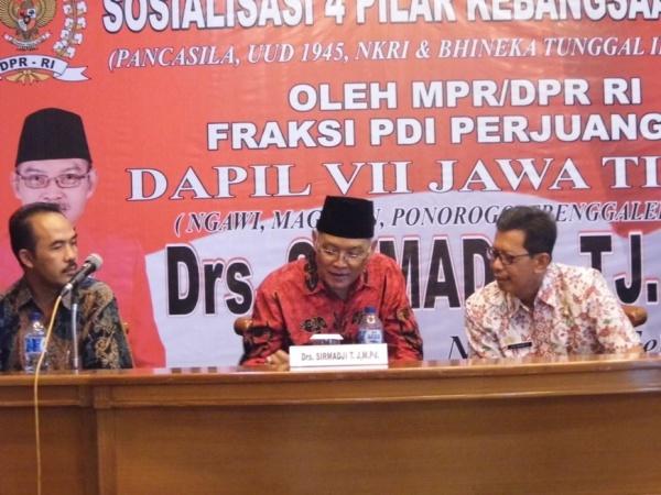 Cegah Krisis Moral, Komisi II DPR RI lakukan sosialisasi 4 Pilar Bersama Para Guru
