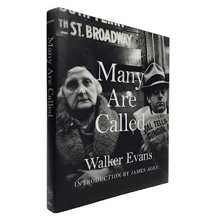 'Many Are Called' Walker Evans Photography Book