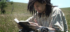 Guy reading Bible