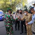 Pangdam III/Slw Tinjau Penyekatan Peniadaan Mudik Idul Fitri di Padalarang