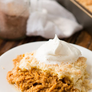 Pumpkin Pie Pudding Cake
