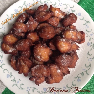 African Banana Fritters