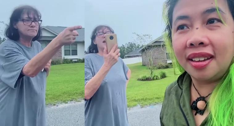 Madam Kilay, dinuro duro at inaway ng kaniyang Racist na kapitbahay!