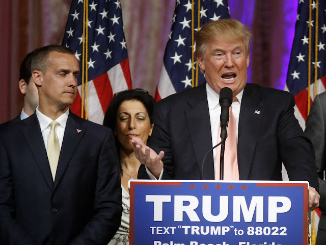 Video: Trump campaign manager charged in assault case