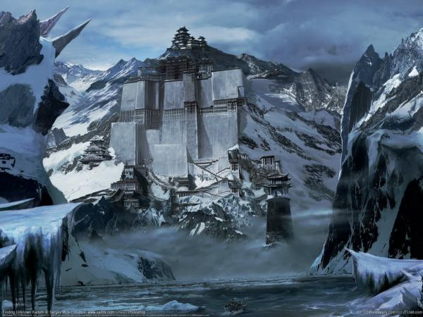 Village Of Snows, Magical Landscapes 2