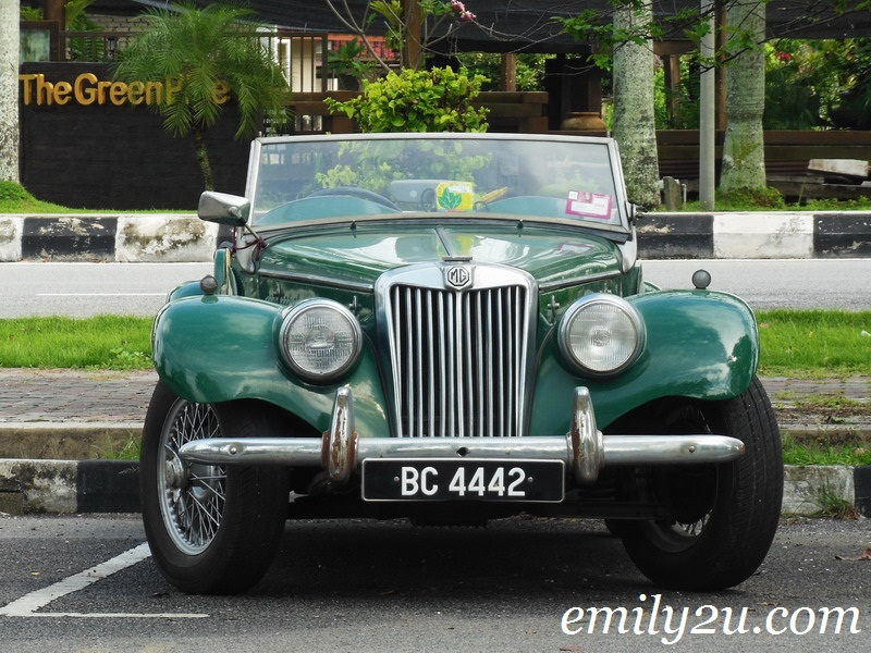 MG Sports Classic Car