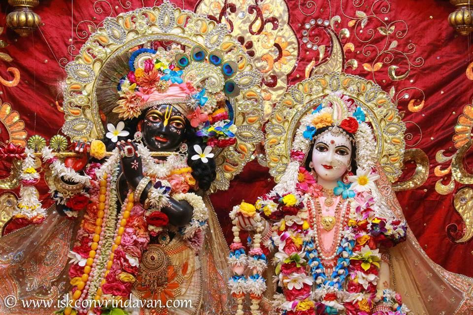 ISKCON Vrindavan Shringar Deity Darshan 2 April  2016  (7)