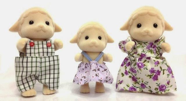 Bộ gia đình nhà Cừu Sheep Family Epoch