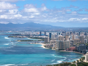 Waikiki, from Diamond Head