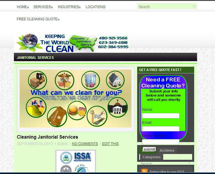 cleaningjanitorialservices.com