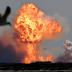 Protótipo de foguete explode na aterrissagem após teste de lançamento