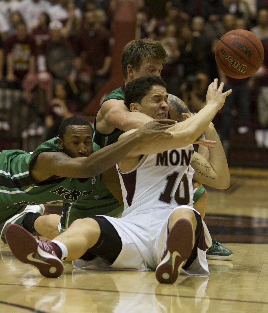 Dahlberg Arena in Missoula, Mont., February 9th, 2013.