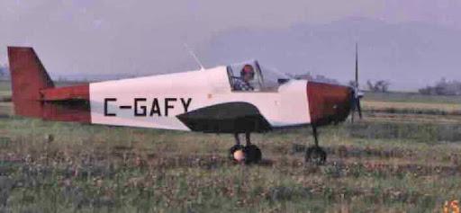 """Zenair Zenith CH 100 """"Mono-Z"""" (with custom canopy and cowl)"""