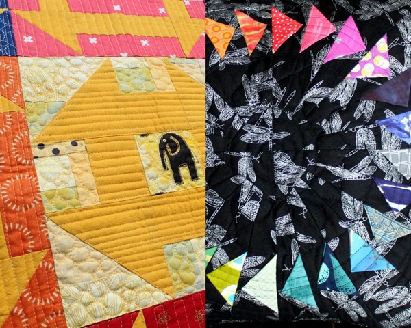 Monkey Wrench and Flying Geese Quilt