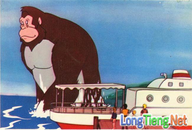Những bộ phim hoạt hình thú vị về King Kong mà bạn chưa biết - Ảnh 1.