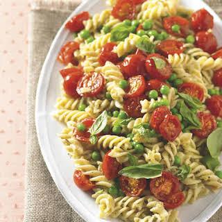 Roasted Tomato and Pesto Pasta.