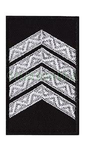 Погон Поліція  Старший сержант липучка